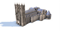 3d westminster abbey church