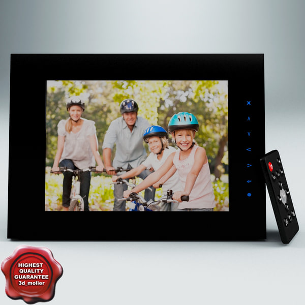 max estarling impact7 wifi digital - eStarling Impact7 WiFi Digital Photo Frame... by 3d_molier
