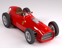 3d model ferrari f1 256