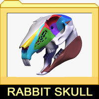 3ds max rabbit skull