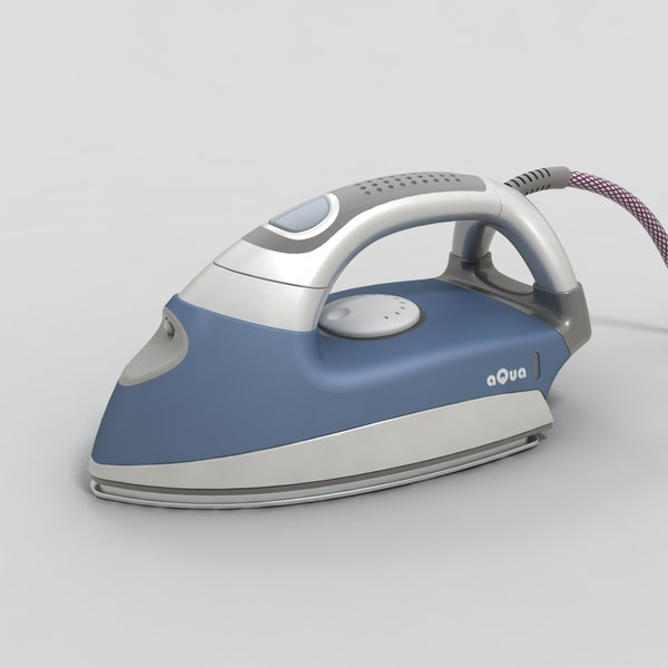 3ds steam iron - steam iron aqua... by German Lagna