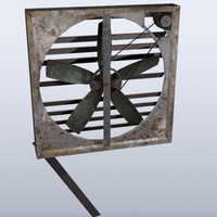 old fan 3d 3ds