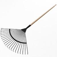 3d garden fan rake model