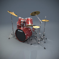 max yamaha classic drum set
