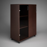 CGAxis Office Cabinet 16