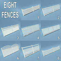 8 Wooden Fences