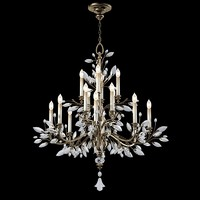 Fine Art Lamps 753840  chandelier crystal glass celing lobby hall foyer lamp suspension