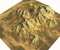 3dsmax mountain terrain