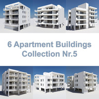 3ds max 6 apartment buildings