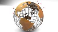 3ds max globe global