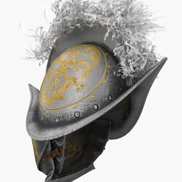 swiss guardsmen helmet max - Swiss Guardsmen Helmet... by 3d_molier