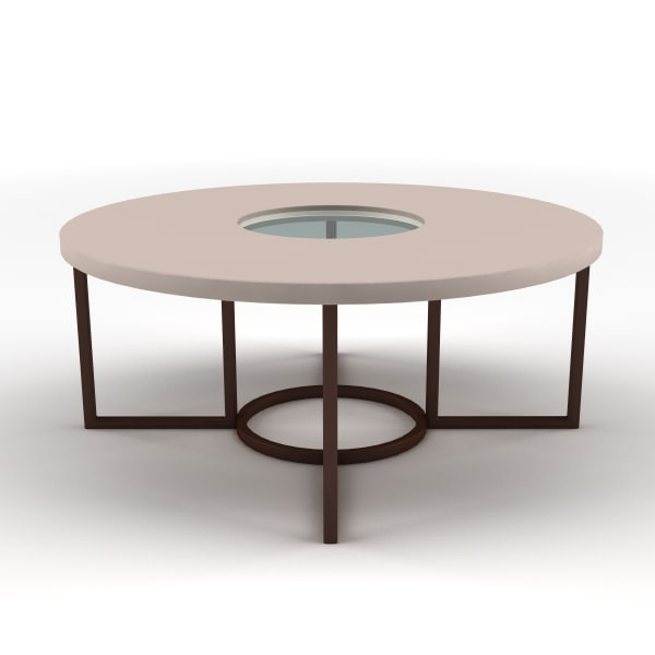 Glass Centre Table : lwo table glass centre - Low round table with glass centre... by ...