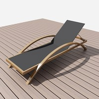 long beach chair design 3d max