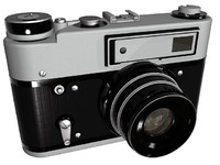 3ds max old russian photo camera