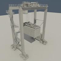RTG Crane