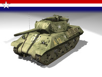 3d tank destroyer m10 model