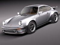 3d model porsche 911 930 turbo