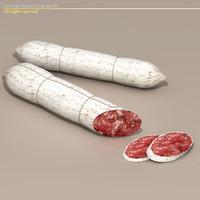 materials salami cured 3d c4d