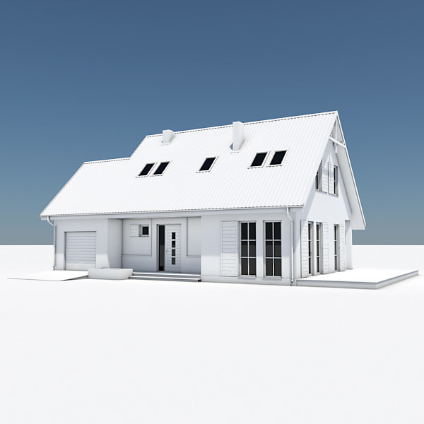 ultimate house pack building 3d model - Ultimate House Mega Pack... by Pumper