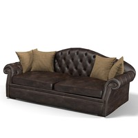 BrunoZampa extended sofa classic traditional tufted