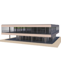 3d multi purpose building