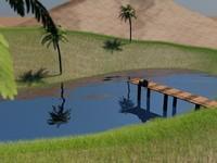 environment dynamic grass c4d