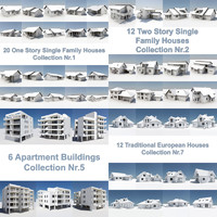 ultimate house pack building 3d model
