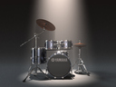 drum kit 3D models