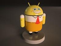 android sponge 3d model