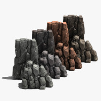 rock games unreal 3d model