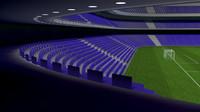 fantasy stadium 3d c4d