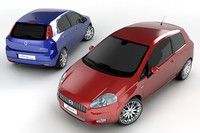 Fiat Grande Punto Collection 2 Cars