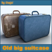 Old big suitcase # 3