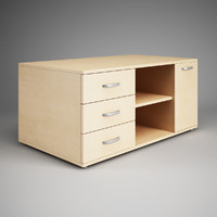 CGAxis Office Cabinet 22