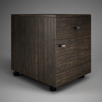 3d cgaxis office cabinet 44