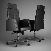office chair 50 3d model