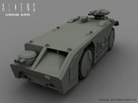 ALIENS APC (with interior)