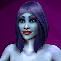 Alien Women Character Collection Rigged