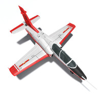 3d k-8 karakorum fighter jet model