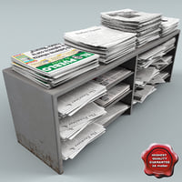 Newspapers Stand V1