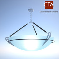 modern ceiling light fixture 3d 3ds