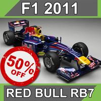 3d model bull rb7