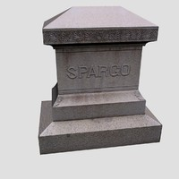 spargo grave cemetary tombstone max