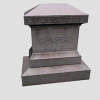 spargo grave 3d 3ds