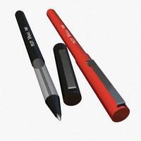 ballpoint pen 3d 3ds