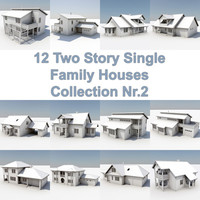 12 Two Story Houses Nr2