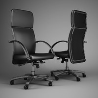 office chair 48 3d model
