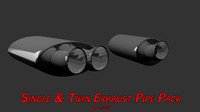 car exhaust pack twin max free