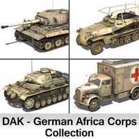 Deutsches Afrika Corps (DAK) - Collection
