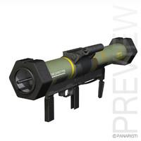 launcher 3d model